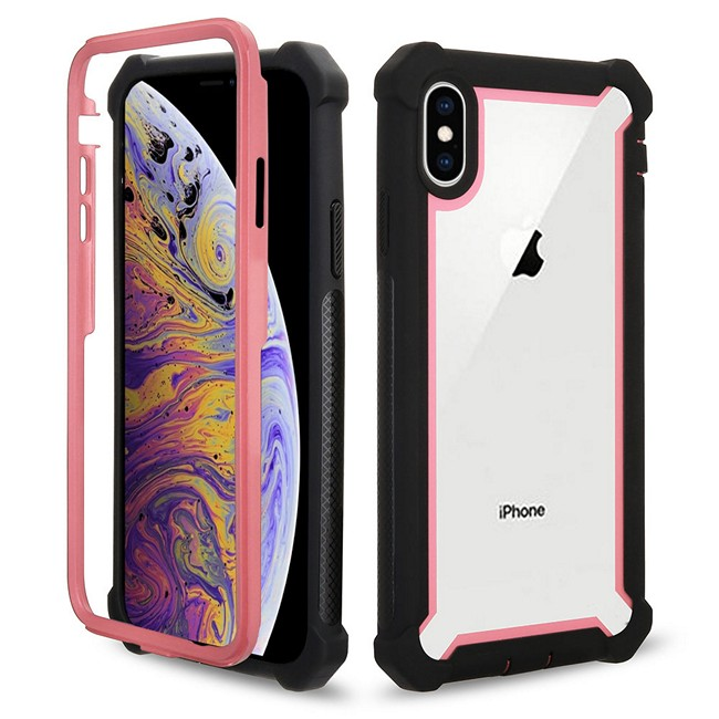 Iphone Xs Max Combo Case Pink 1495 Mobilize Phone